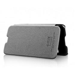 Husa protectie din piele ecologica pentru Samsung Galaxy S5 G900, alba